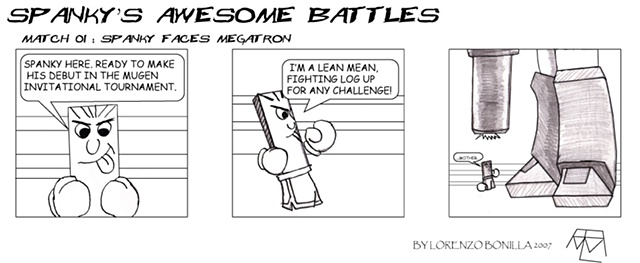 Spanky's Awesome Battles