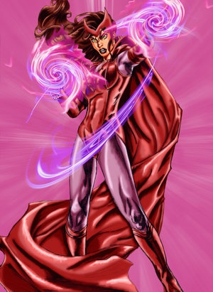 Scarlet Witch - Colored