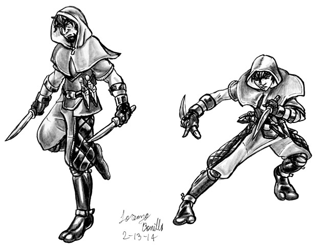 Rogue Class - Male and Female