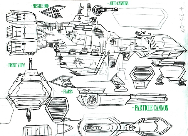 Junk Space Carrier Concept