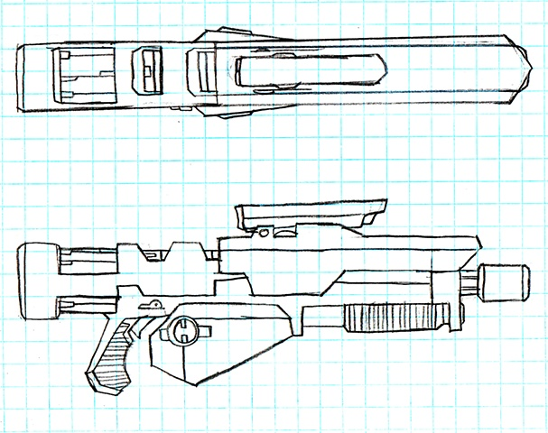 Plasma Rifle Orthos Sheet