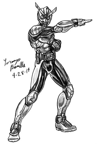 Theme #1: Armored Characters - Kamen Rider Jaeger
