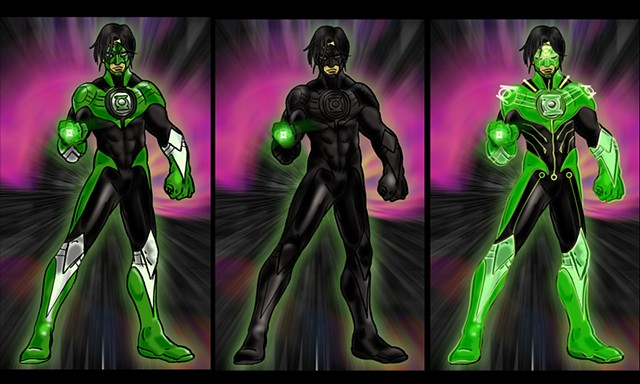 PR:Redesign-Green Lantern Kyle Rayner: All Modes