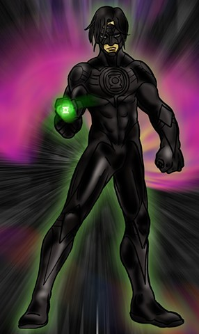 PR:Redesign-Green Lantern Kyle Rayner:Stealth Mode