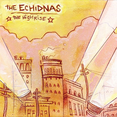 "The Echidnas - ""The Highrise"" front cover"