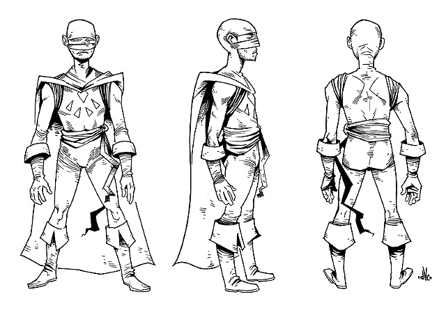 "Style/character samples for work on the ""Kick-Ass"" video game for Sony's PS3."
