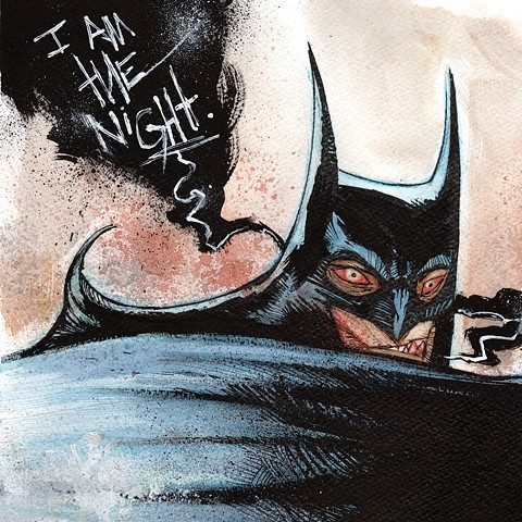 I AM THE NIGHT art book