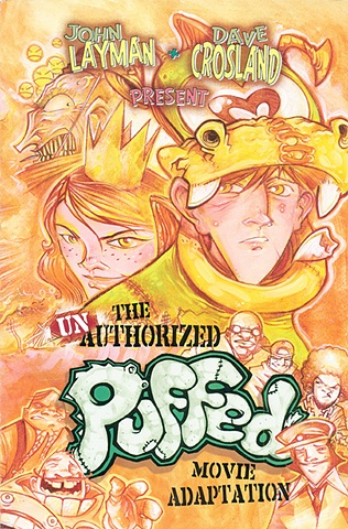 Cover art from Puffed / clients - Image Comics & IDW Publishing