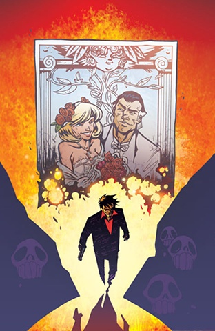 Cover art from Scarface: Scarred For Life / client - IDW Publishing
