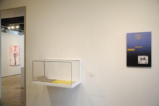 Ctrl+P installation view (l-r): E.V. Day (through doorway), Glenn Ligon, Paul Chan