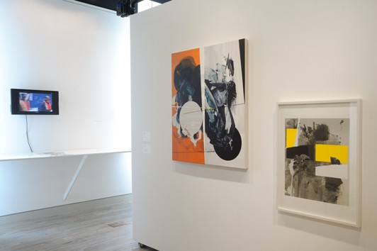 Ctrl+P installation view: Steve Lambert and Vince Contarino