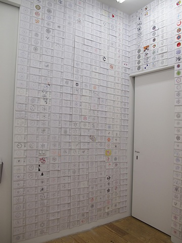 DOTTO LOTTO installation view Curatorial Research Lab @Winkleman Gallery