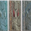 Panel Starers Triptych by Melissa Brown