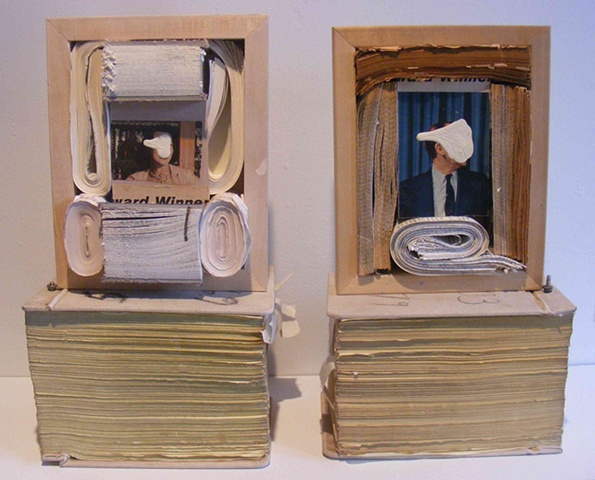 Carnegie Museum of Art Purchase Award Assemblage Book art