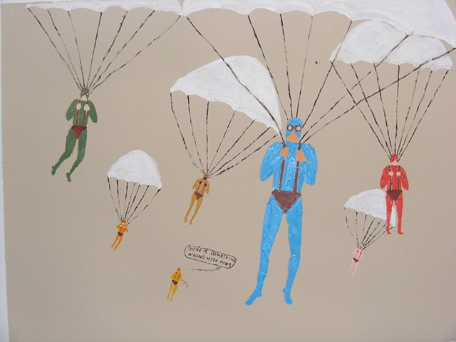 Untitled (Parachuting)