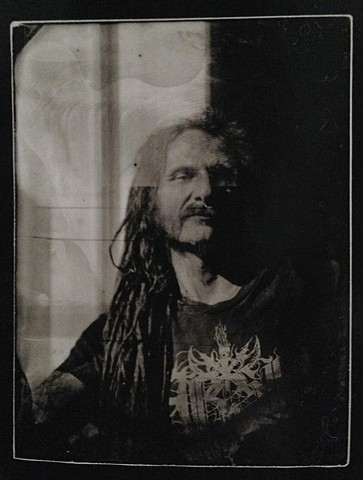 Richard - Glass Plate made in the Wet Plate Process then printed in Lith