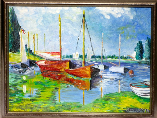 Monet Reproduction #1 (SOLD)