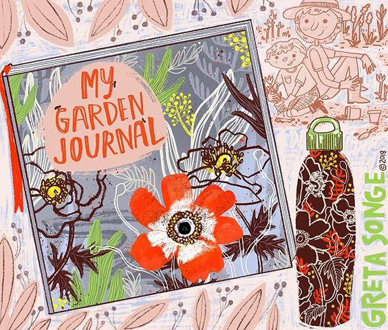 Garden Journal Mockup