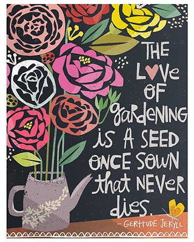 Roses Quote Poster