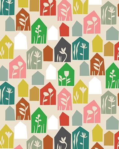 Flower Houses