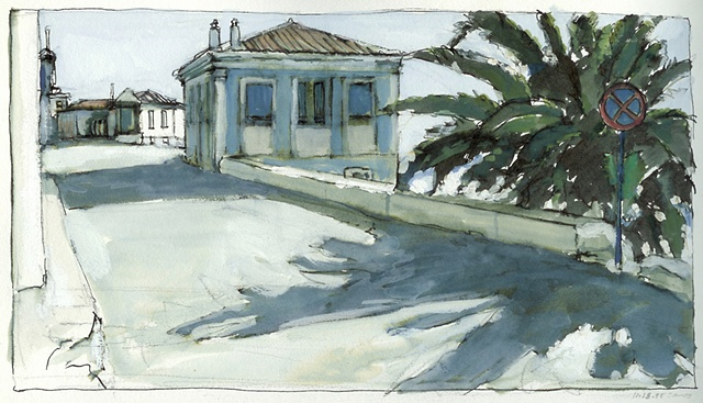 sketch in Samos by John Martinek