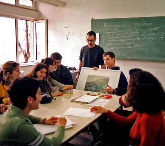 Teaching in Turkey with Doug Russell - 1998