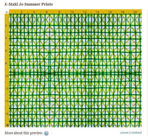 Green Picnic Print