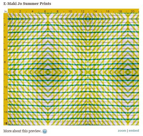 Yellow Picnic Print