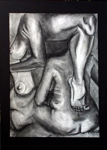 Human Figure Montage - Too Many