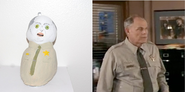 Lewis Arquette as Chief Lewis Hartley- Scream 2- 1997