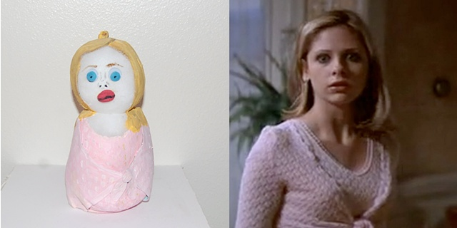 Sarah Michelle Gellar as Cici- Scream 2- 1997