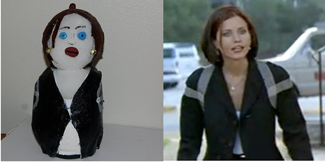 Courteney Cox as Gale Weathers- Scream 2- 1997