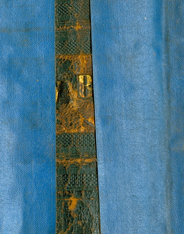King James Bible, date unkown Adhesive damage