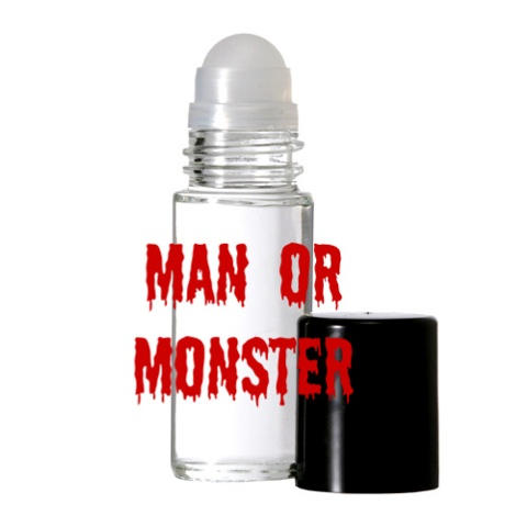 MAN OR MONSTER Purr-fume oil by KITTY KORVETTE