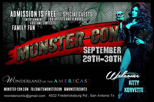 MONSTER-CON SAN ANTONIO!