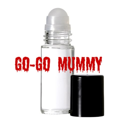 GO-GO MUMMY Purr-fume oil by KITTY KORVETTE