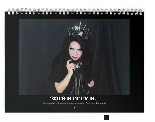 2019 KITTY K CALENDAR AVAILABLE NOW!