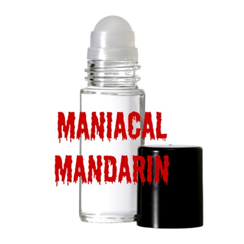 MANIACAL MANDARIN Purr-fume oil by KITTY KORVETTE