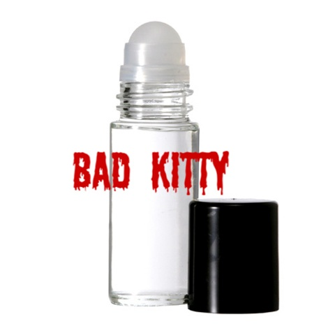 BAD KITTY Purr-fume oil by KITTY KORVETTE