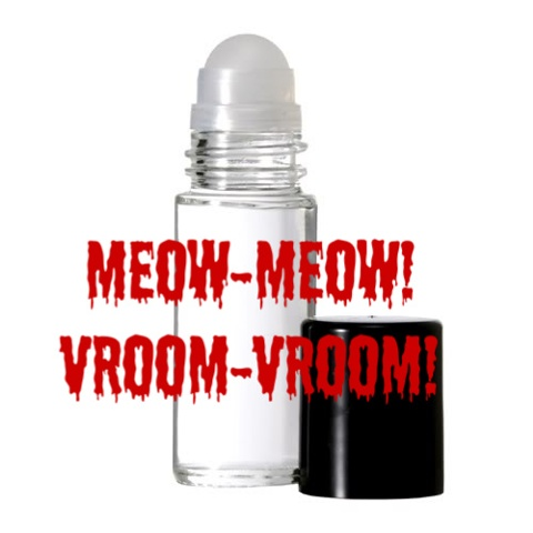 MEOW-MEOW! VROOM-VROOM! Purr-fume oil by KITTY KORVETTE