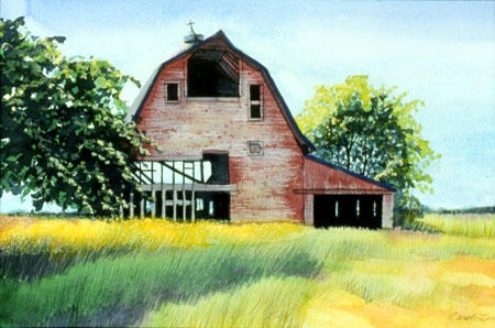 Barn on Lighthouse Road