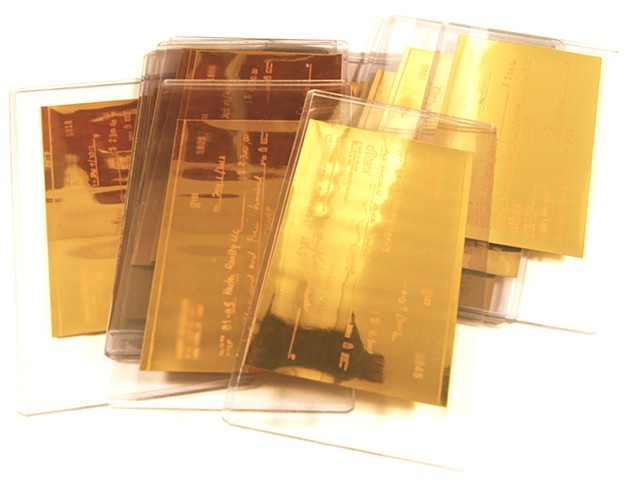 gold bills  produced by CAGE