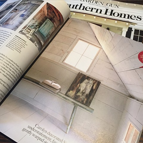 Featured in Winter 2016 Garden & Gun's Southern Homes Magazine