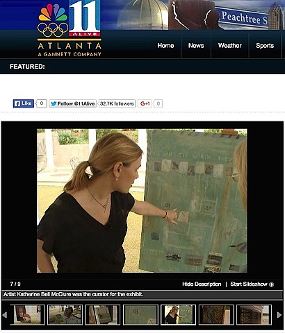 Featured on 11 Alive News, 2012