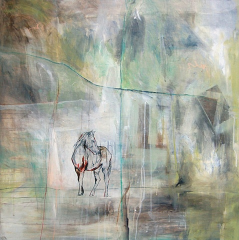 Horse Painting by Katherine Bell McClure