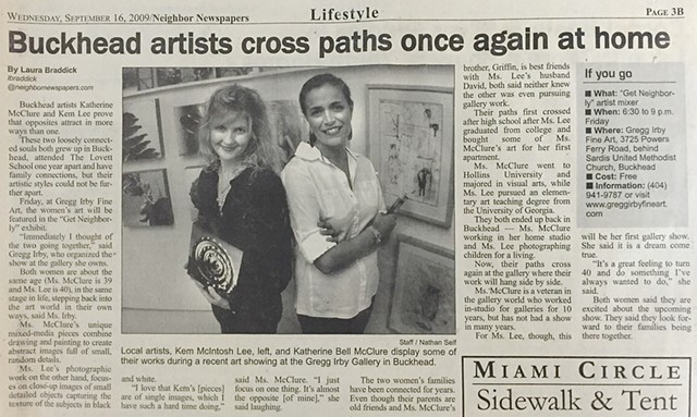 Featured in Northside Neighbor Newspaper, 2009