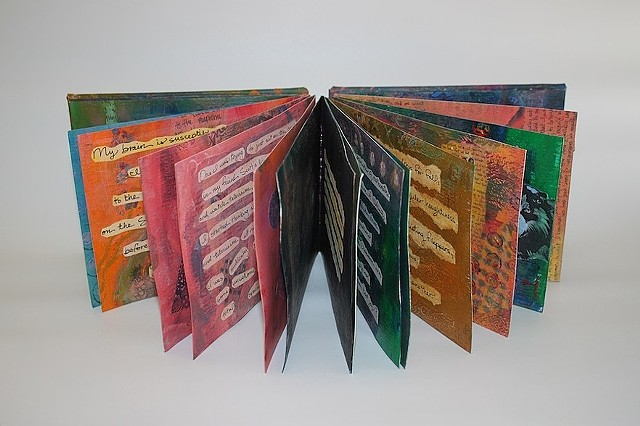 "Pacific Center for the Book Arts ""Bookworks: Triennial  Members' Exhibit."""