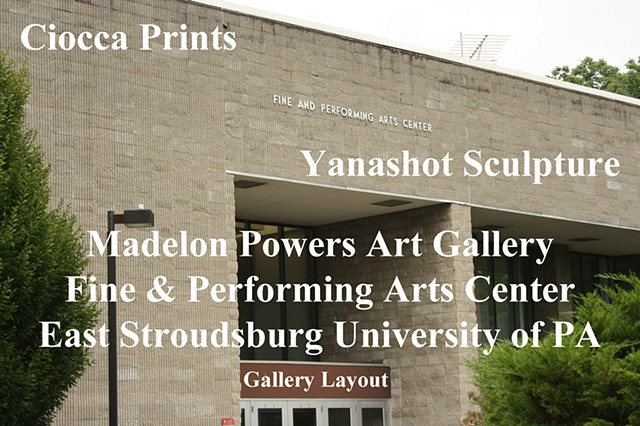 Ciocca Prints/Yanashot Sculpture Gallery Layout