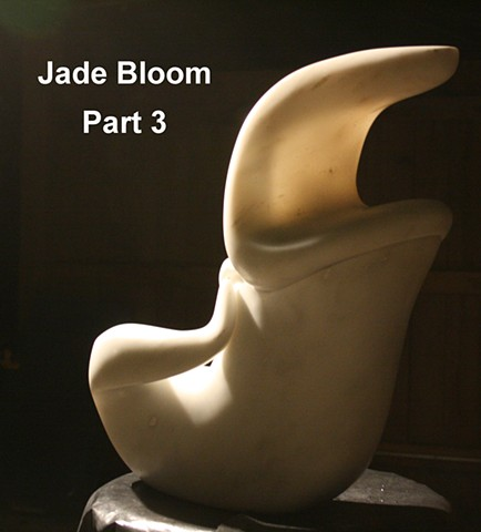 The Sculpting of Jade Bloom: Part III - Finishing & Mounting To Base