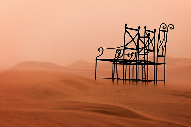 Chairs on the Sahara